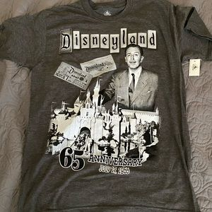 Disneyland 65th Anniversary T-Shirt Walt Disney